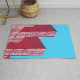 Pile of shipping container Rug