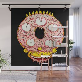 Donut Boy Wall Mural