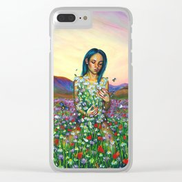 Loves me. Loves me not Clear iPhone Case