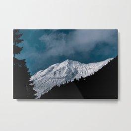 Avalanche Metal Print