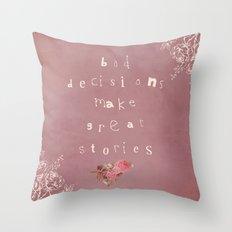 True Story Throw Pillow