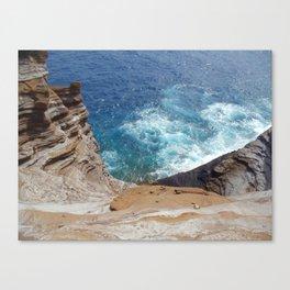 Secret Beach Canvas Print