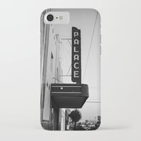 theater iPhone & iPod Cases featuring Palace Theater by Teran Jones