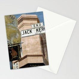 Jack Kerouac Alley and Vesuvio Pub Stationery Cards