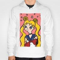sailormoon Hoodies featuring Sailormoon! by poetickles