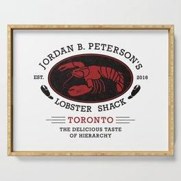 Jordan Peterson - Lobster Shack 2 Serving Tray
