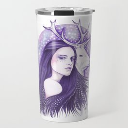 Deer Spirit Travel Mug