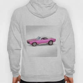 Hot Wheels Pink Party 427 SS Pony Car 67 Redline with white hardtop Hoody