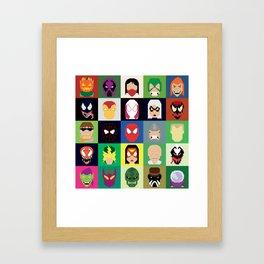 Sp1derman & Co Framed Art Print