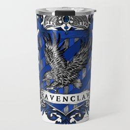 Ravenclaw Color Crest Travel Mug
