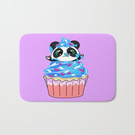 A Panda Popping out of a Cupcake Bath Mat