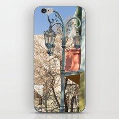 Street Lights of La Boca II iPhone & iPod Skin