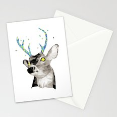 Geosafari | Deer (White) Stationery Cards