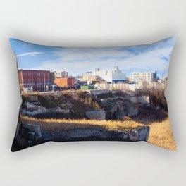 Urban Nature Rectangular Pillow