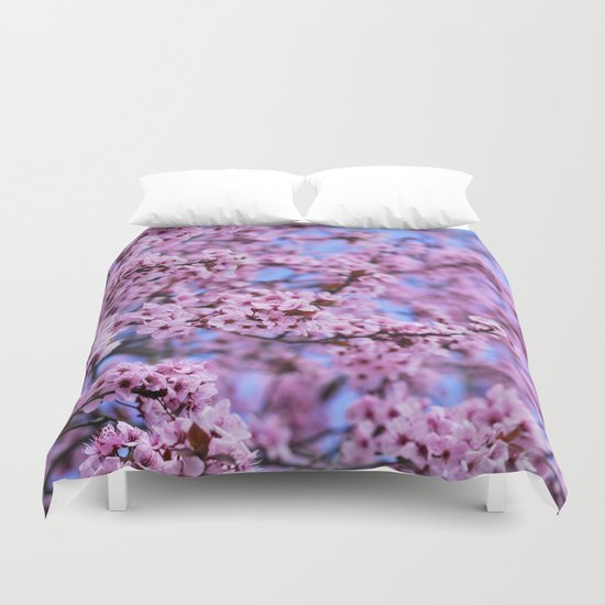 """Pink world"" Duvet Cover"