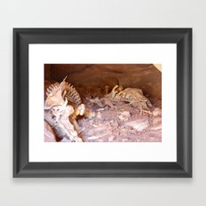 In the Hallowed Stone Framed Art Print