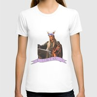 thranduil T-shirts featuring Thranduil - Flower Crown by River
