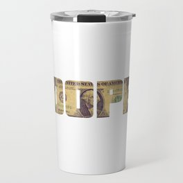"""""""Dope Money"""" tee design. Perfect tee to mock your friends! Go grab yours and for your family too!  Travel Mug"""