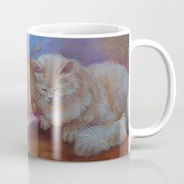 Cat Family Red Maine Coon Cat portrait Decor for Pet lover Coffee Mug