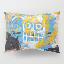 Blurring the Line Between Figuration and Abstraction Pillow Sham