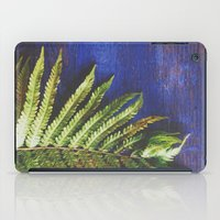 fern iPad Cases featuring Fern by Olivia Joy StClaire