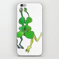 lesbian iPhone & iPod Skins featuring lesbian space alien seeks same by Nehalennia