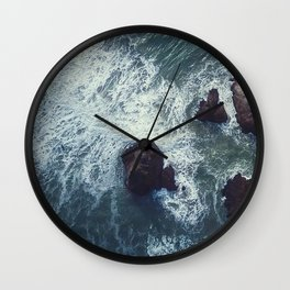 ocean_waves Wall Clock