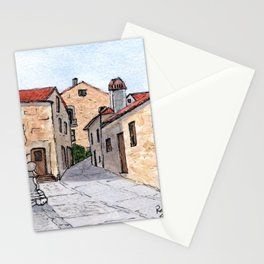 Village in Portugal Stationery Cards