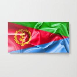 Eritrea Flag Metal Print