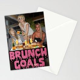 #BRUNCH GOALS Stationery Cards