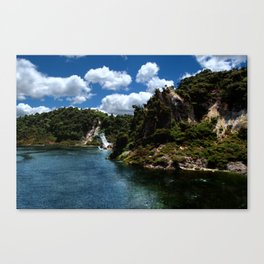 Frying Pan Lake, New Zealand Landscape Canvas Print
