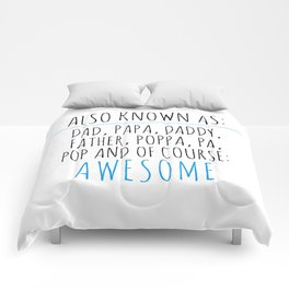 Awesome Dad Comforters