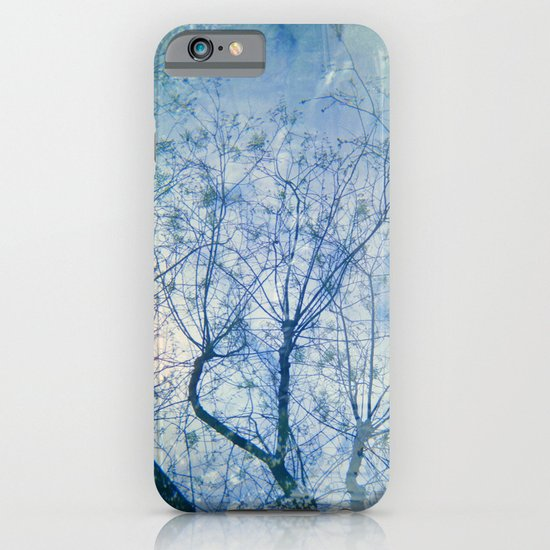 Blue Winter Blossoms  iPhone & iPod Case