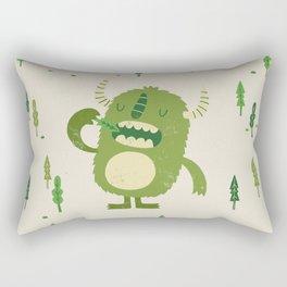 the tree muncher Rectangular Pillow