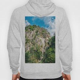 Carpathian Mountains View On Transfagarasan Road In Romania, Summer Landscape, Transylvania Mountain Hoody