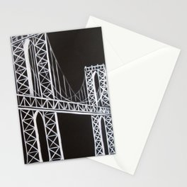 No. 59 Brooklyn Bridge  Stationery Cards