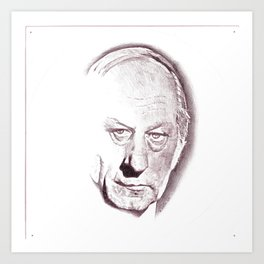 René Lévesque Art Print