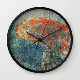 Moths 4 Wall Clock