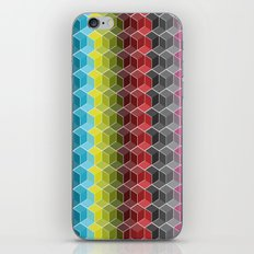 Hexagon Shades / Pattern #6 iPhone & iPod Skin