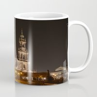 baroque Mugs featuring Dresden Baroque  by DuniStudioDesign