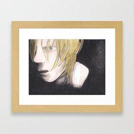 Are You Afraid Of The Dark? Framed Art Print