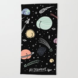 Asstronomy Beach Towel