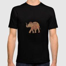 Elephant baby Mens Fitted Tee MEDIUM Black
