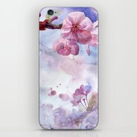"sakura iPhone & iPod Skins featuring ""Sakura"" by Emma Reznikova"