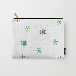 Snowflakes_E Carry-All Pouch