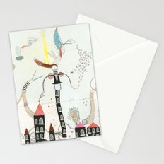 Desire creates the power. Stationery Cards