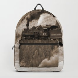 Steam Hauled Train - Engine 486 Backpack