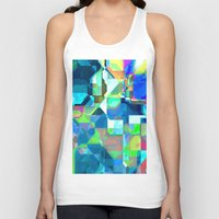 70s Tank Tops featuring Back in the 70s, blue by MehrFarbeimLeben