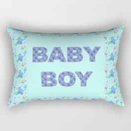 Baby Boy 3 Rectangular Pillow