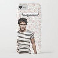 darren criss iPhone & iPod Cases featuring Darren Criss  by Hannah
